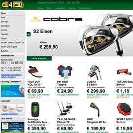 relaunch www.all4golf.de
